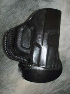 WALTHER PPS PPQ PK380 P99 BLACK LEATHER RH PADDLE HOLSTER by TAGUA