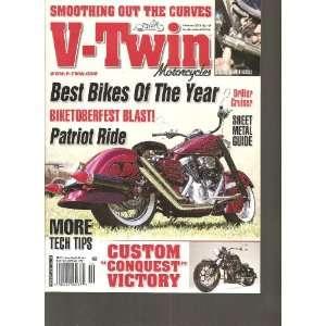 V Twin Motorcycles Magazine (February 2012 No. 130