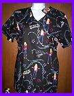 hannah montana nurse s uniform scrubs top small nwt returns
