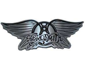 AEROSMITH Wings Logo Belt Buckle Rock Metal gift
