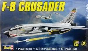 REV5863 F 8 Crusader Aircraft 1/48 Revell Monogram