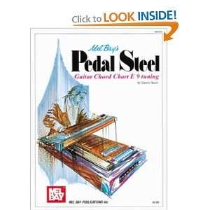 Mel Bay Pedal Steel Guitar Chord Chart (9780871663702