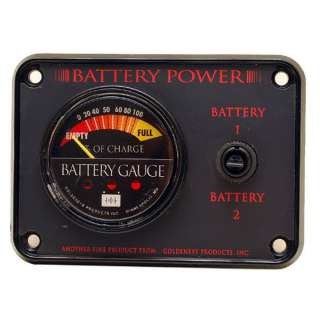 GOLDENEYE BOAT BATTERY GAUGE PANEL