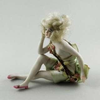 Art Deco Galluba & Hoffman Bathing Beauty Doll Half Pin Doll Interest