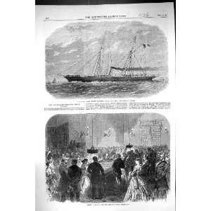 1866 Yacht Jerome Napoleon Ship Havre Rouge Noir