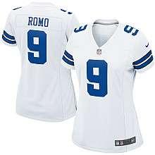 Womens Nike Dallas Cowboys Tony Romo Game White Jersey