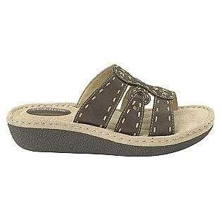 Slide Sandal Wide Width Brown Cobbie Cuddlers Shoes Womens Sandals