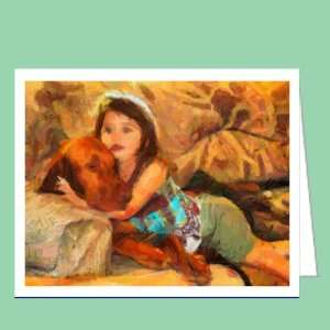 Vizsla   Milo and Autumn Blank Note Cards   Set of 6 with