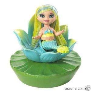 Barbie Flower Shower Mermaid Kelly Doll   BLUE New/NRFB
