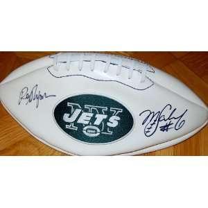 New York Jets Rex Ryan & Mark Sanchez Autographed / Signed