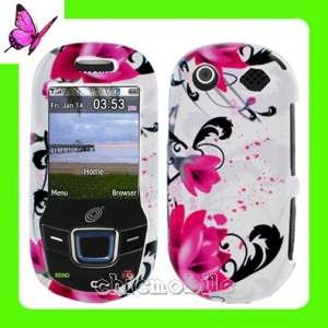 Case Cover for NET 10 Straight Talk SAMSUNG T340G T330G HOT PINK TULIP