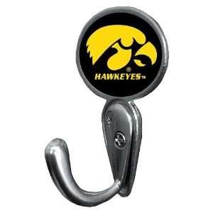 Iowa Hawkeyes NCAA Classic Logo Coat Hook   Wall Mount