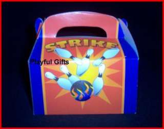 Bowling Treat Party Boxes Sports