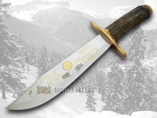 HEN & ROOSTER AND 160th Stag Fixed Blade Bowie Knives