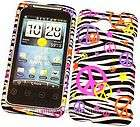 Sprint HTC Evo Shift 4G Slide Pirate Skull Rubberized Hard Phone Case