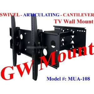 Wall Mount Bracket for LCD Plasma (Max 175Lbs, 32~60inch) Electronics