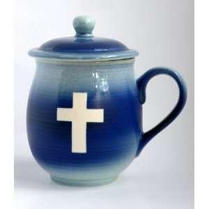 Mug,100% Handmade Pottery Mug with Lid High Fired to 2400