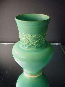 Weller Pottery Green Matte Breton Vase Arts & Crafts