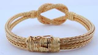 Ladies Designer LALAOUNIS 18K Yellow Gold Bracelet