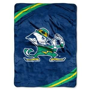 NCAA Notre Dame Fighting Irish FORCE 60x80 Super Plush
