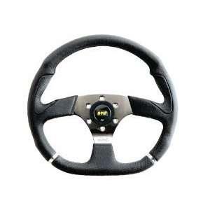 OMP Racing OMP OD/2018/LN CROMO: Flat 350 mm steering wheel  Black