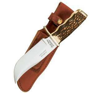 Schrade   Uncle Henrys Hunter, Staglon, Plain, Leather