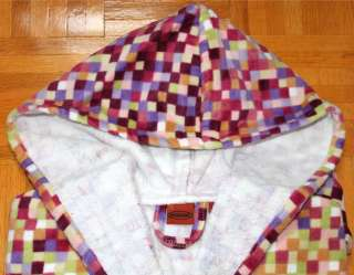 MISSONI Home LOUNGE Sleepwear BATHROBE Italy HOODED Milena COTTON