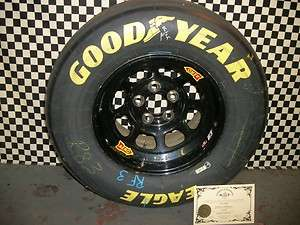 Brian Vickers HOMESTEAD 11/2007 NASCAR Race Tire & Rim
