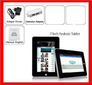 TABLET WIFI PC ANDROID EBOOK READER APAD 7 POLLICI USB