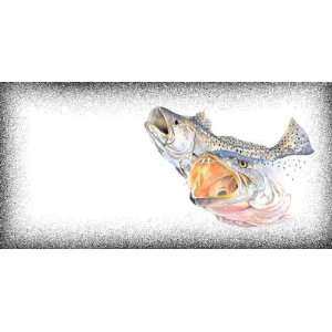 SPECKLED TROUT License Plate 2500
