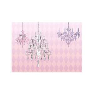 Wallpaper 4Walls Just for Girls Crystal Palace Pink