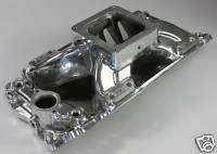 BBC BIG BLOCK CHEVY EFI 454 POLISHED INTAKE 23032