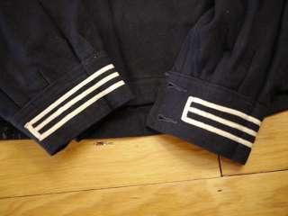 Navy SAILORS CRACKER JACK JUMPER UNIFORM Ft Mandan E Co. NAMED