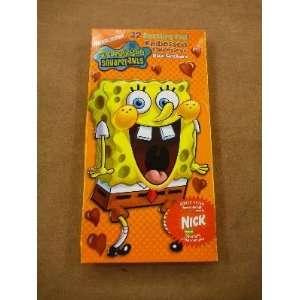 Nickelodeon SpongeBob SquarePants 32 Dazzling Foil Embossed Valentines