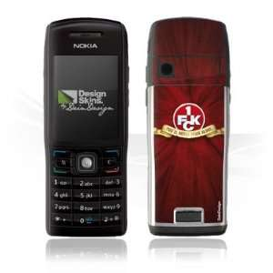 Design Skins for Nokia E50   1. FCK   You will never walk alone Design