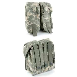 Pantac MOLLE AK Double Mag Pouch (ACU / Cordura) Sports