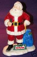 1994 Santa Claus   Hand Painted Figurine