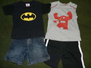 BOYS SPRING SUMMER CLOTHES SIZE 2t 3t NAME BRAND OUTFITS SETS