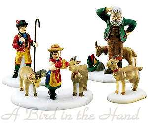 Dept 56, Alpine, HEIDI AND HER GOATS, St/4, Retired, NEW !