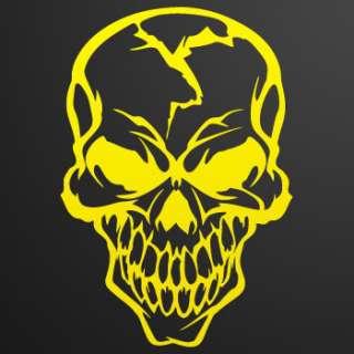 Car window Decal Sticker Skull Demon Devil smile ZE5X9