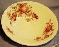 JOHNSON BROS HARVEST TIME 8 3/8 ROUND VEGETABLE BOWL
