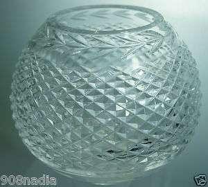 WATERFORD CRYSTAL GLANDORE ROUND SHAPE VASE BOWL DISH
