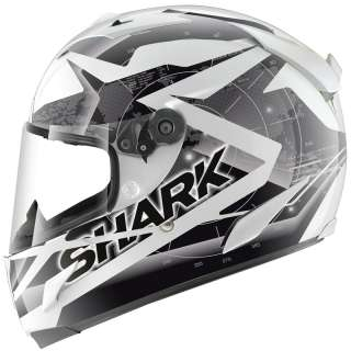 SHARK RACE R PRO KUNDO LIGHTWEIGHT RACING FULL FACE MOTORCYCLE CRASH