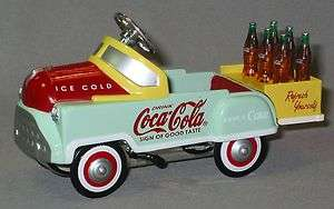 line K 94504 Coca Cola Pedal Car w BottlesTrain Accessory lionel