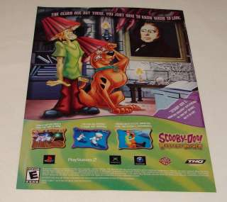 2004 video game ad ~ SCOOBY DOO MYSTERY MAYHEM