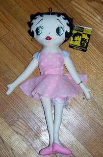 Kellytoy Valentine Collection Betty Boop Doll New w/Tag