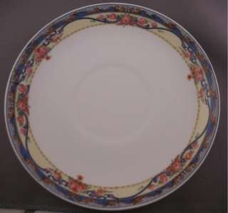gallery now free set of rare penn china 14k gold blue yellow floral