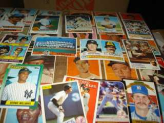 NEW YORK YANKEES CARDS 1939 88 Autos, RUTH MANTLE   FULL GAME USED BAT