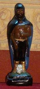 Exu Tranca Rua Alma Statue Santeria Umbanda Vodun Haiti