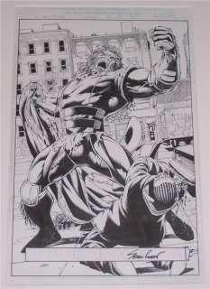 Wolverine #160 p.3 Original Art Page SEAN CHEN
